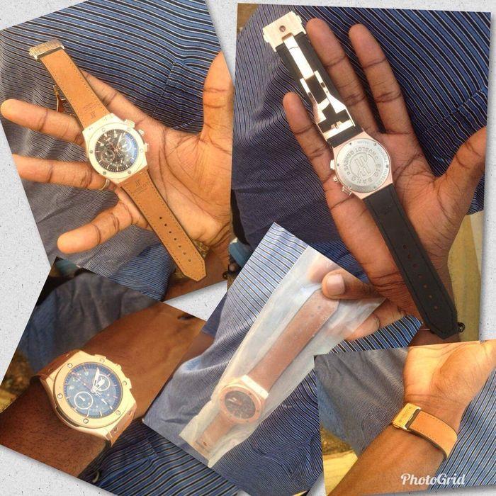 Relógio marca hublot