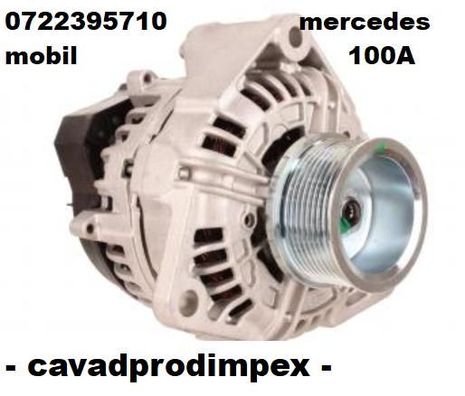 Alternator Mercedes Actros -100 A Bosch -la 24V