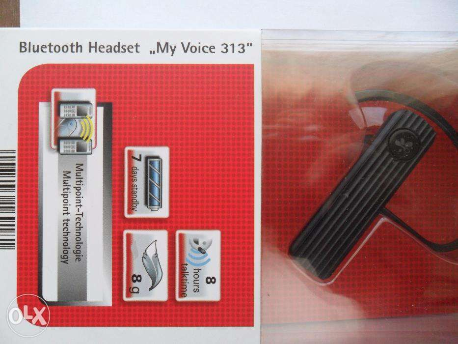 Handsfree tehnologie Bluetooth - set cu casca nou- Original-