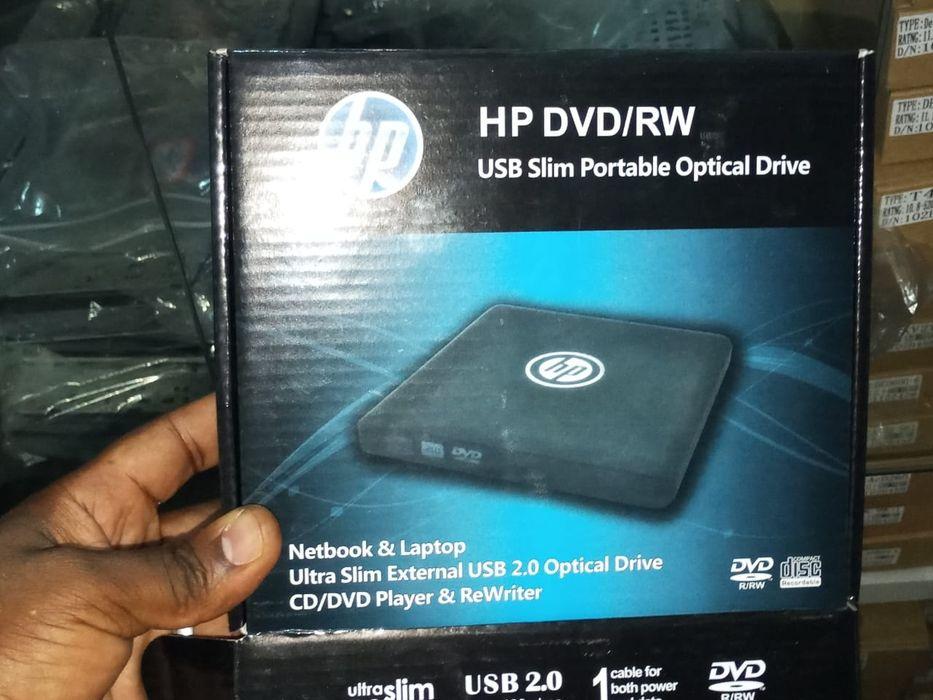 DVD-RW externo Novo de marca HP