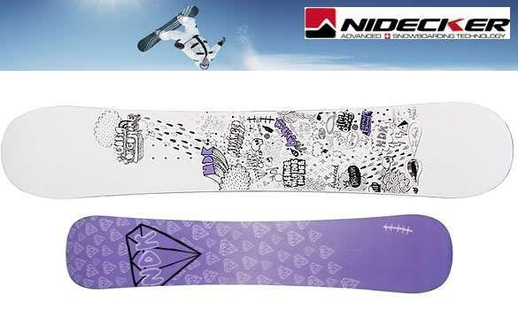 ПРОМО: Сноуборд Nidecker Advanced 161cm