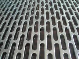 Tabla otel perforata 1x1000x2000mm perforatii alungite