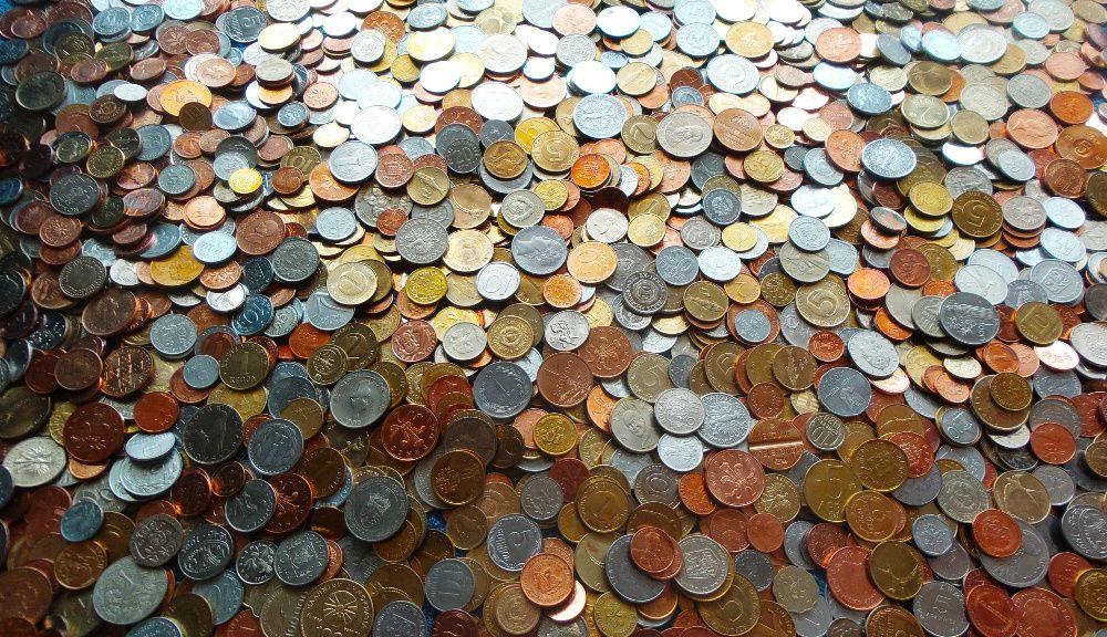 Colecţie 1000 monede + stare excepţională de conservare- diversificare