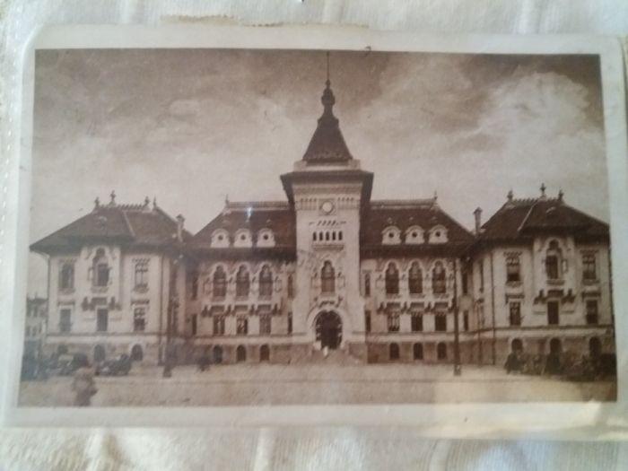 carte postala ilustata-1945-Craiova-Palatul Prefecturii