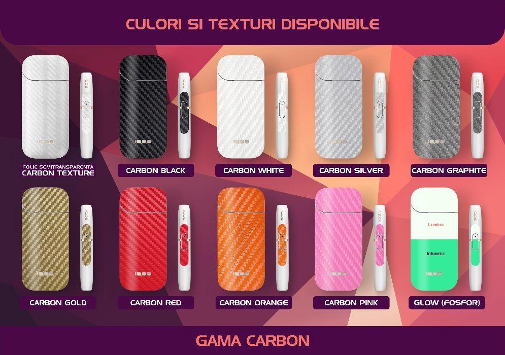 Set folii protectie 360° dispozitiv IQOS tigara electronica, IQOS