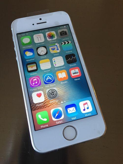 iPhone 5S Silver 16GB Novo Fora da Caixa