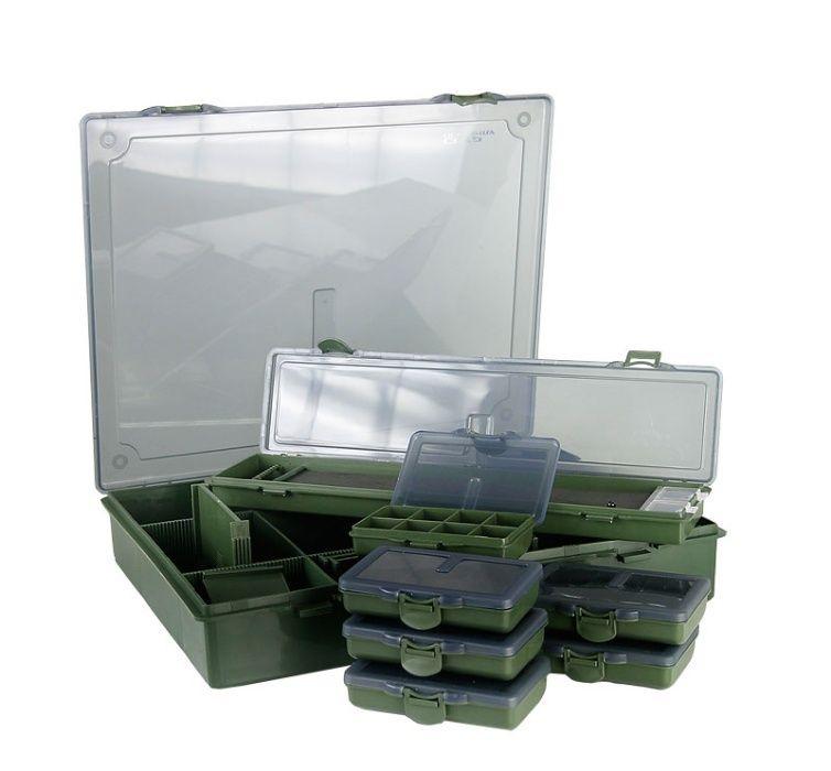 Многофункционална кутия за рибарски такъми CARP ACADEMY LARGE
