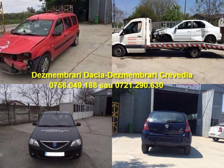 Dezmembrari Dacia Logan motor,cutie,planetara,usi,faruri Dez Crevedia Buftea - imagine 1