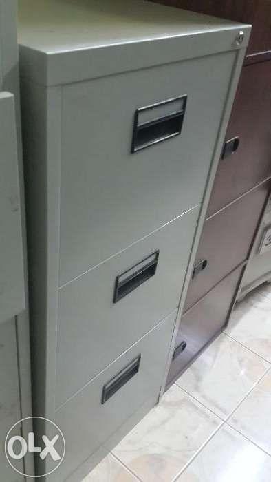 ficheiros metálico 3 gaveta cor cinza com entrega ao domicílio.novo