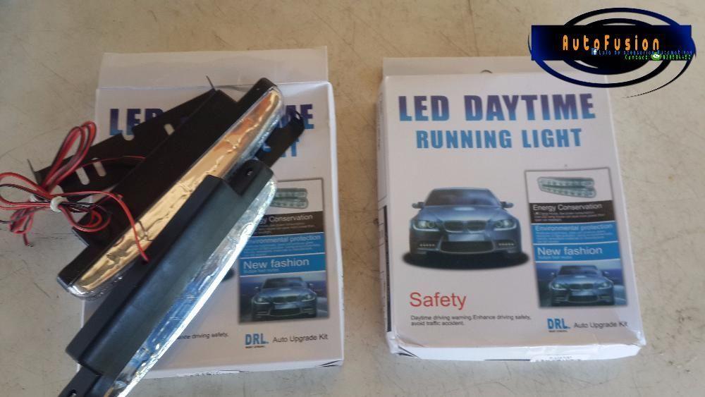 Universal Car Daytime Running Lights 8 LED DRL