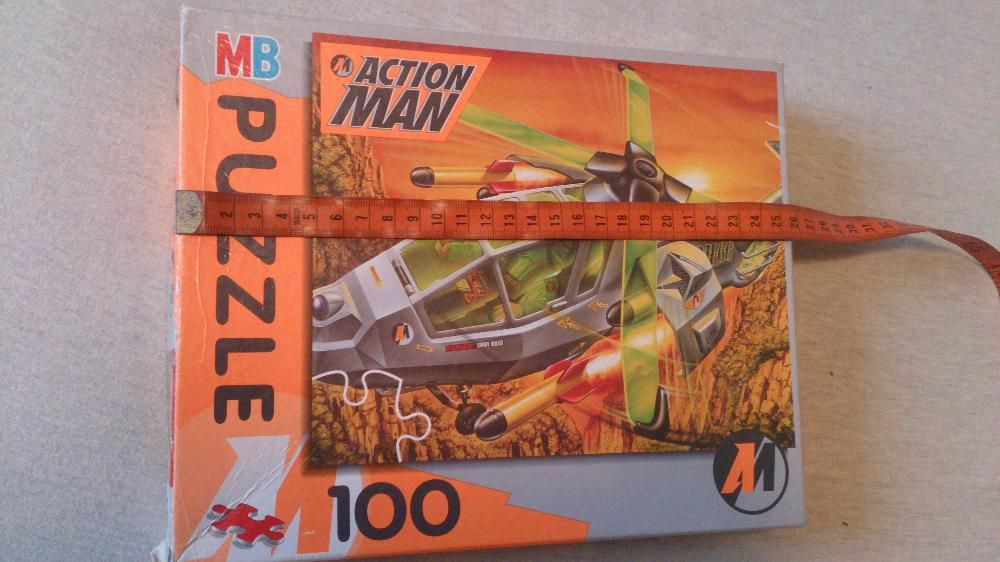 Puzzle Action Man 100 piese