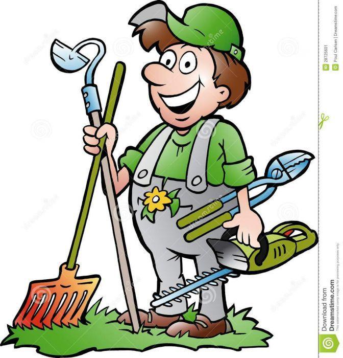 Preocuro emprego como jardineiro