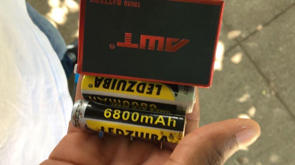 Pilhas 6800/3400 mha