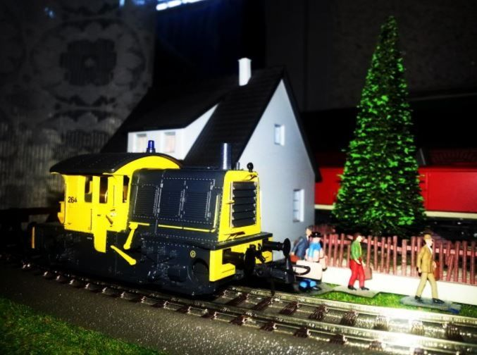 Locomotiva manevra NS scara H0