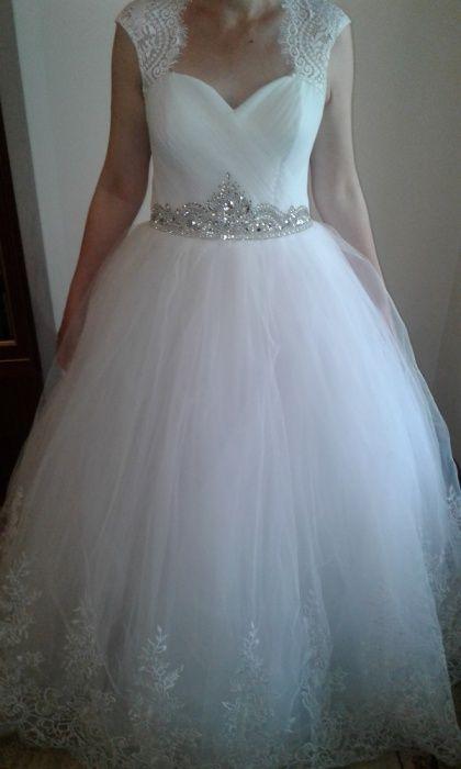 """Свадебное платье """"Королева"""", 46 размер, рост на 170-176. Недорого!"""