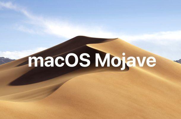 Sistema macbook Mojave (10.14)