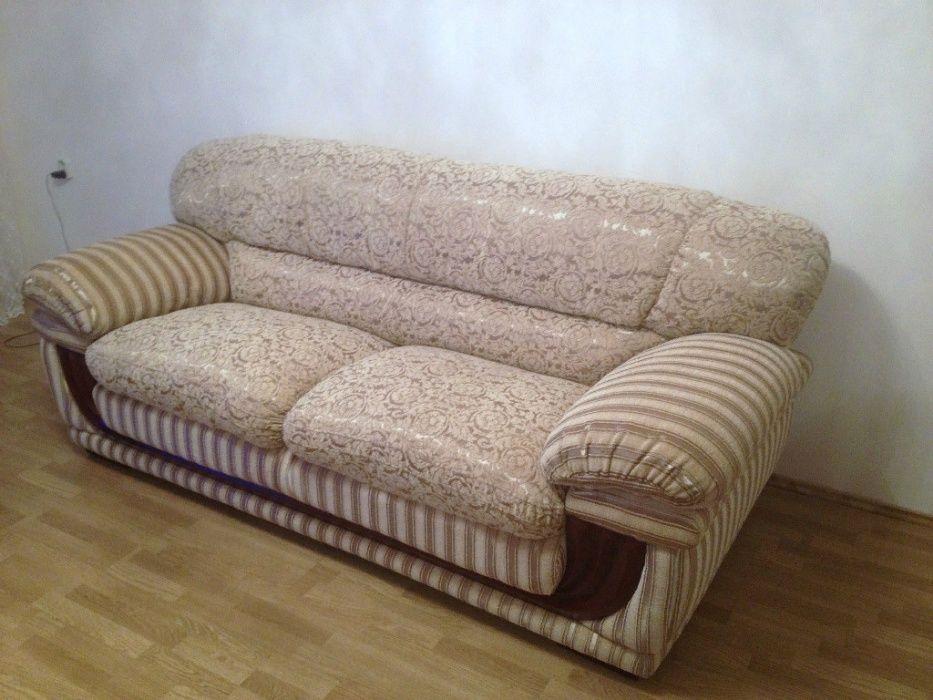 Провалился любимый диван? Перетяжка и изготовление мебели!