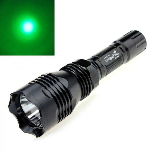 Lanterna Uniquefire cu led Verde Cree XP-E2 pentru vanatoare -1Mode