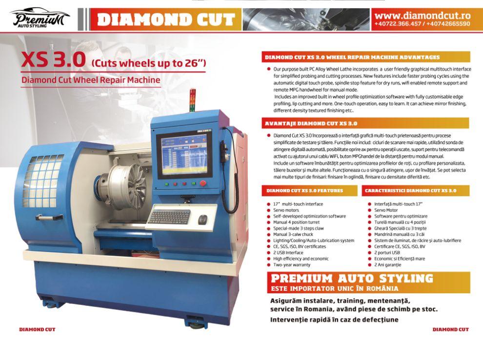 Diamond Cut - Strung automat pentru Jante auto - Importator