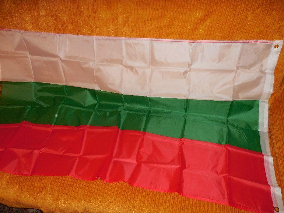 Български знамена българско национално знаме трибагредник флаг шито от