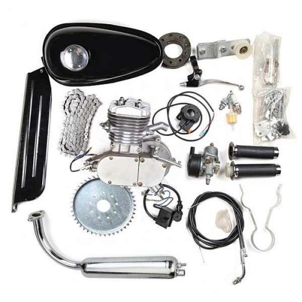 Велодвигател, двигател за колело, бензинов 50 кубика, 80цц кубика гр. София - image 1