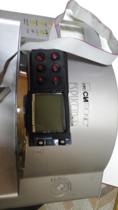 vand ecran control electronic ap de cafea