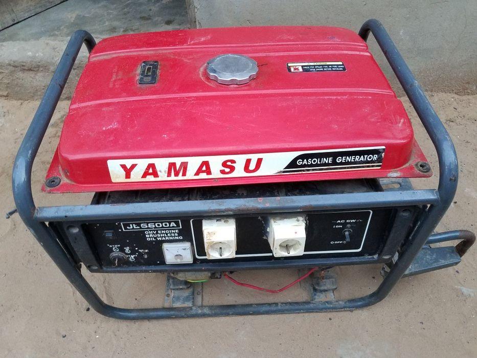 Gerador YAMASU JL 6.600A o motor nunca foi aberto