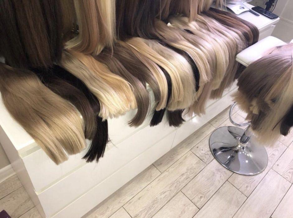 Волосы для наращивания класса lux
