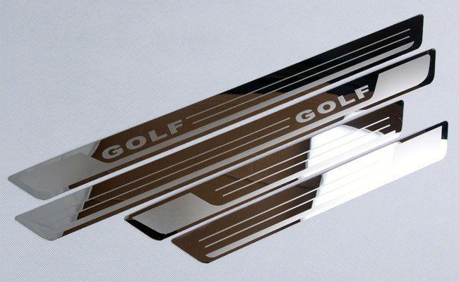 Ornamente inox praguri (9 modele) -VW Golf 4-7, Passat B6 B7 B8, Jetta Bucuresti - imagine 1