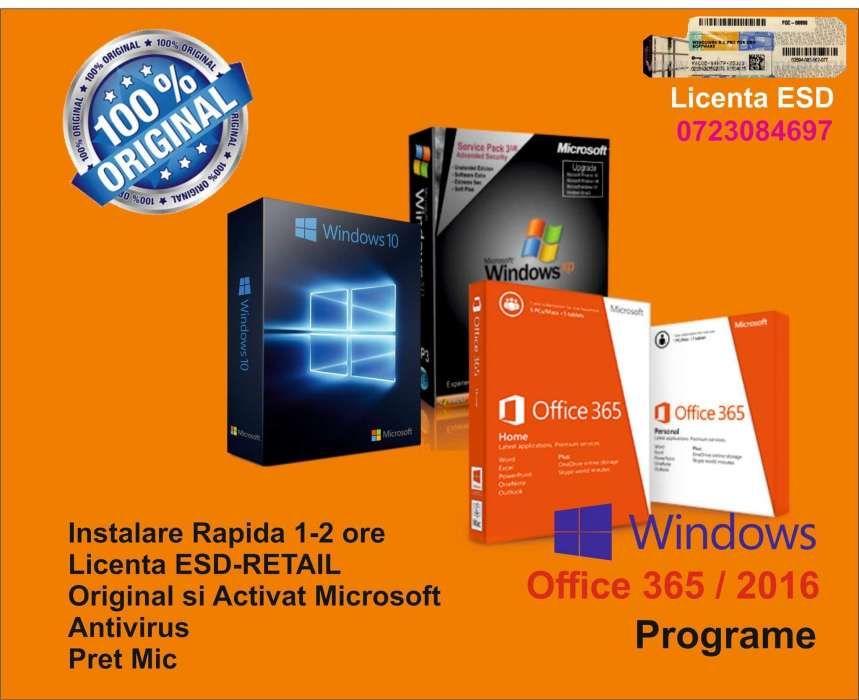 Instalez Windows cu Licenta-Activare Microsoft!Serviciu Premium!