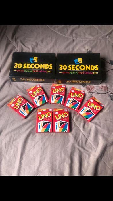 30segundos e cartas uno