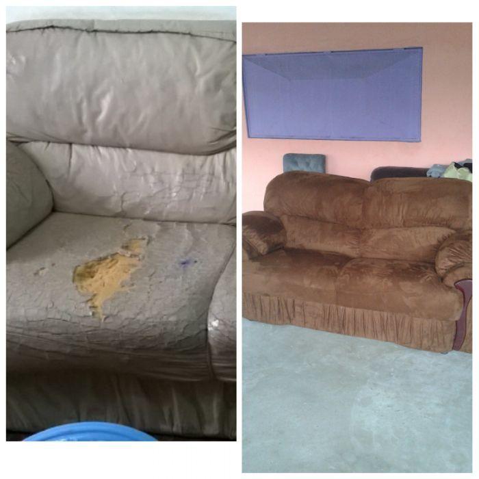 Renovação de sofas