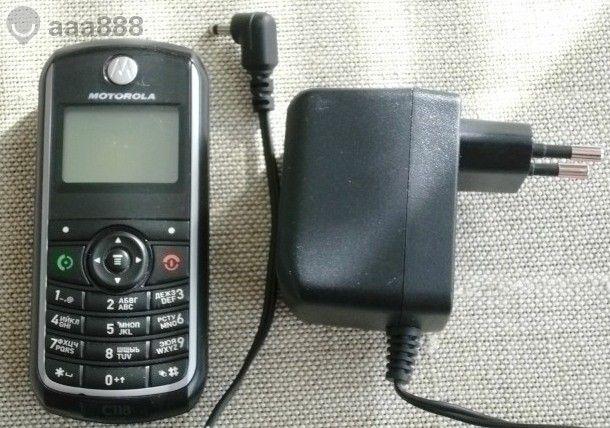 Motorola С118 със зарядно