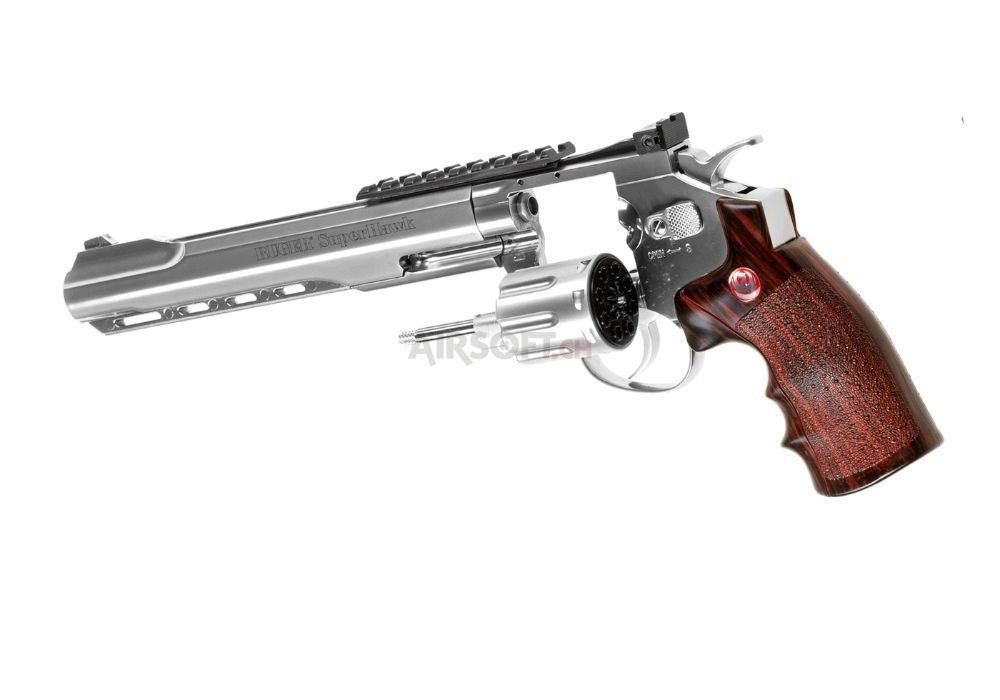 Revolver Ruger SuperHawk 8i Crom CO2 Pistol airsoft 6mm