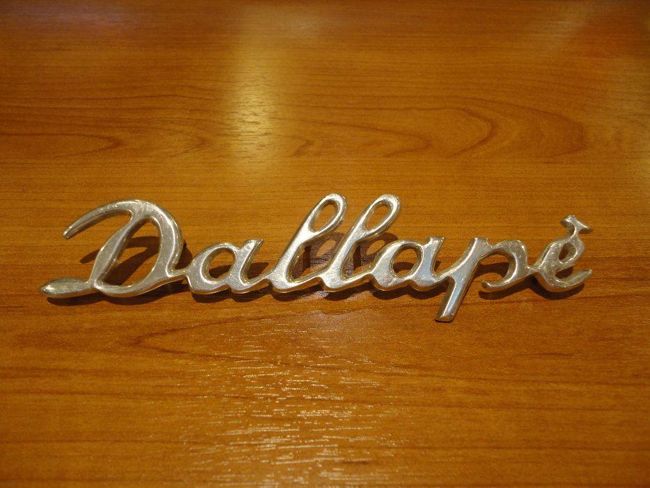 Scris Dallapè Original Italia Acordeon Dallapè - Stradella