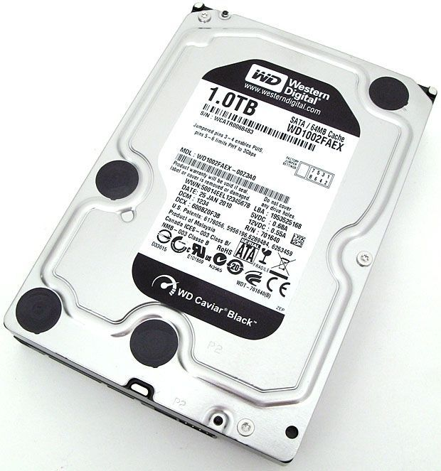 HDD Wd Black 1Tb