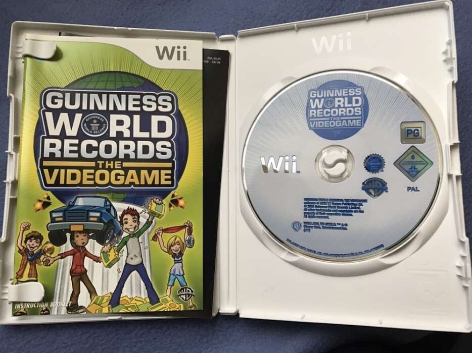 Joc Wii Nintendo Guiness Book Records