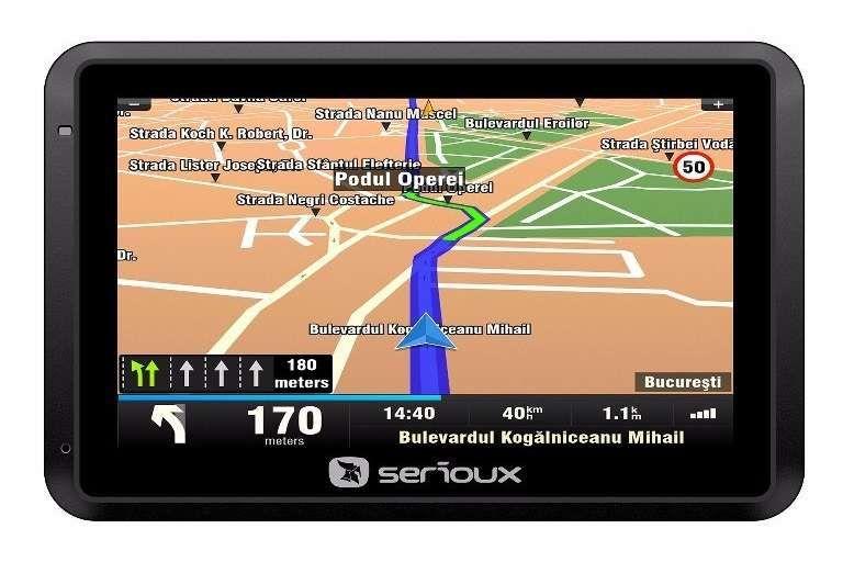 "Sistem de navigatie Serioux UrbanPilot Q550T2, diagonala 5"" Bistrita - imagine 5"