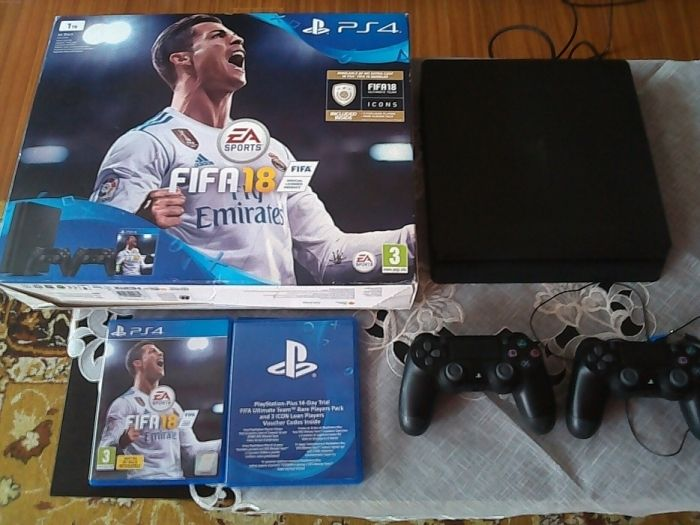 PS4 +Fifa 18 ca nou