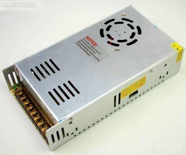 Sursa 30A 12v. Reglabila . Ventilator inteligent.