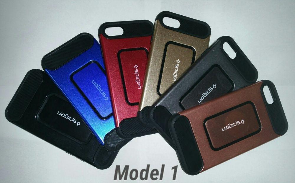 Husa antisoc hibrid 2in1 iPhone 7,7s,8,7 Plus,7s Plus,8 Plus -4 modele