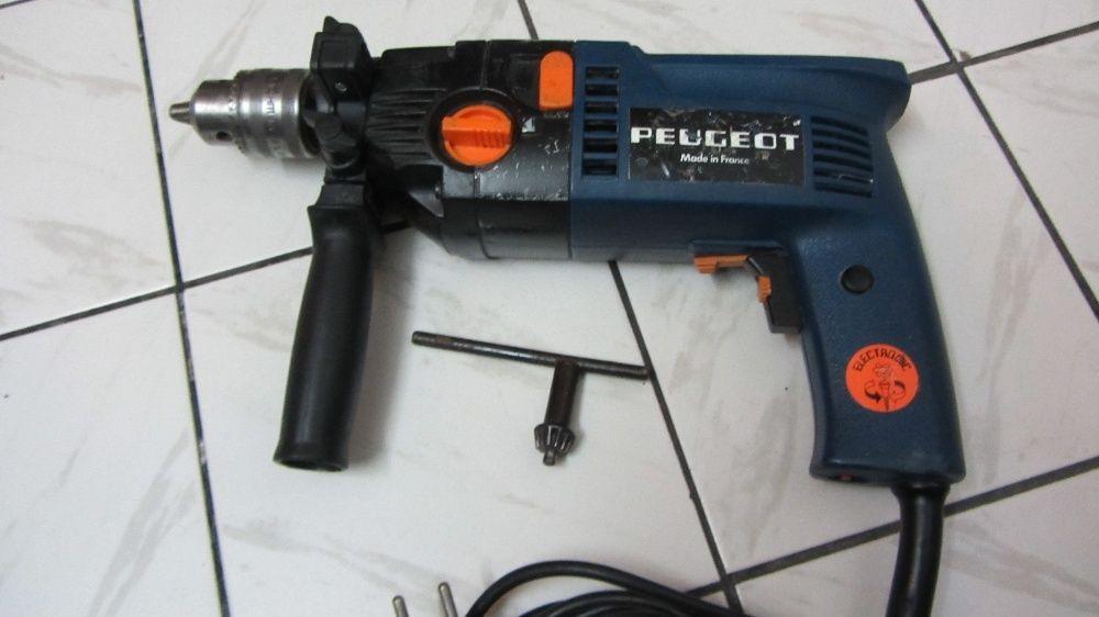 peugeot 650 W двускоростна ударна бормашина