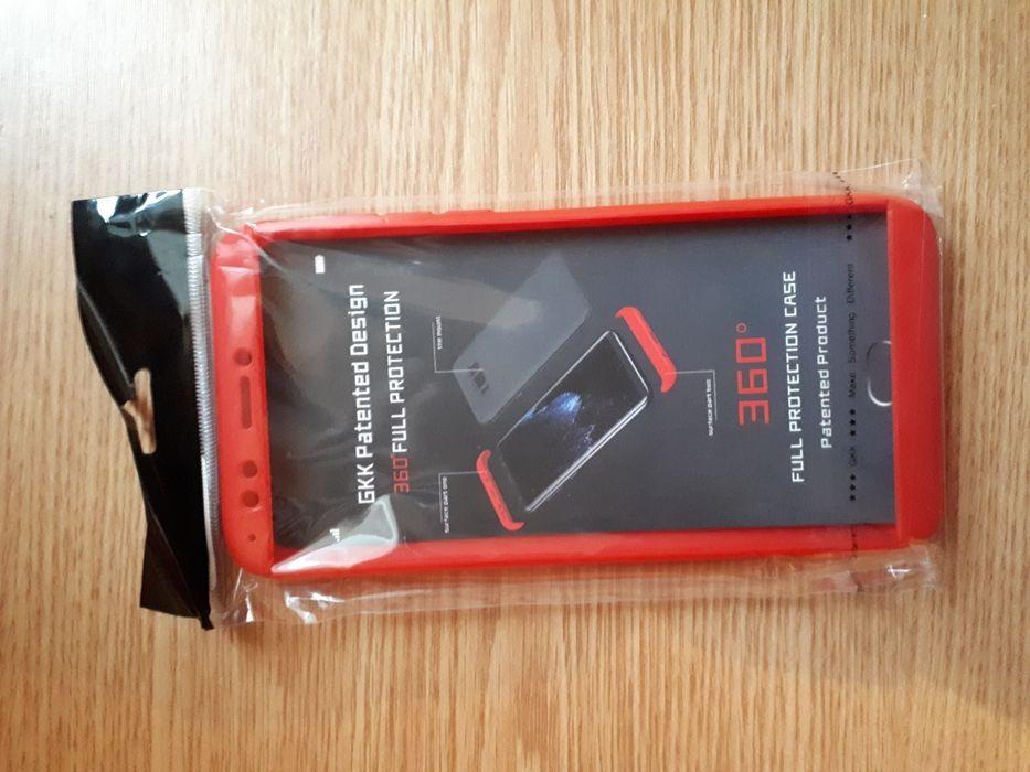 Husa Huawei Honor 7C GKK 360° Full Cover Rosu