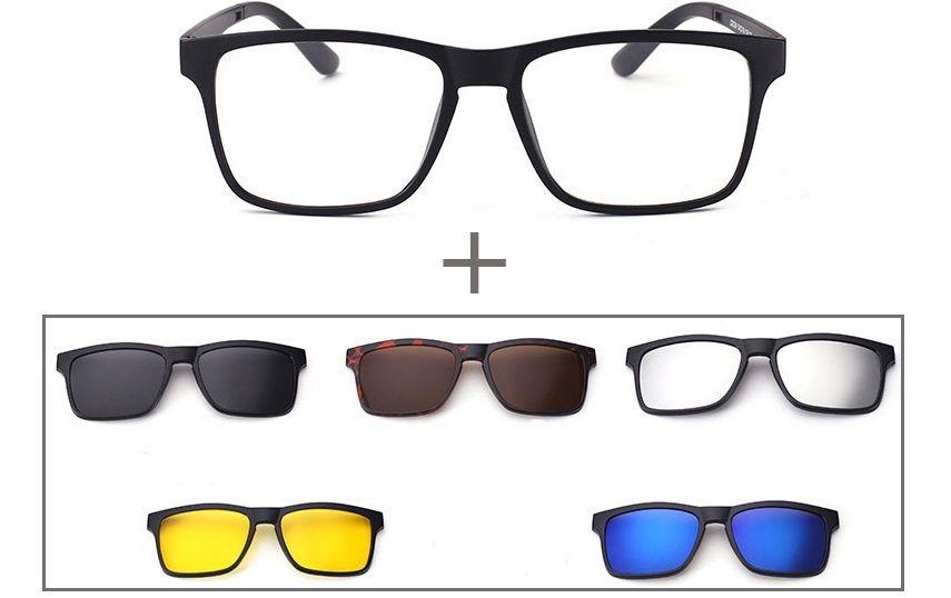 Унисекс слънцезащитни очила 5 в 1