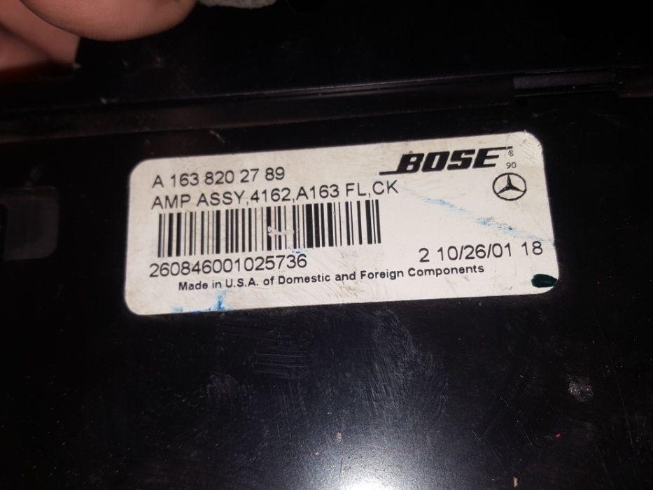 Amplificator BOSSE Mercedes ML W163 A1638202789