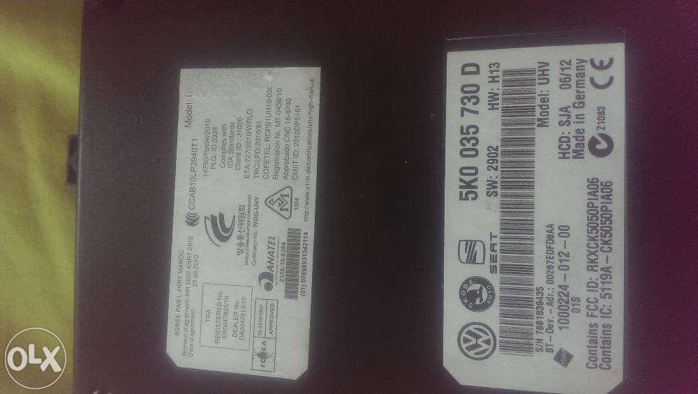 Modul VW Bluetooth RNS 510?RCD 510 5K0035730D