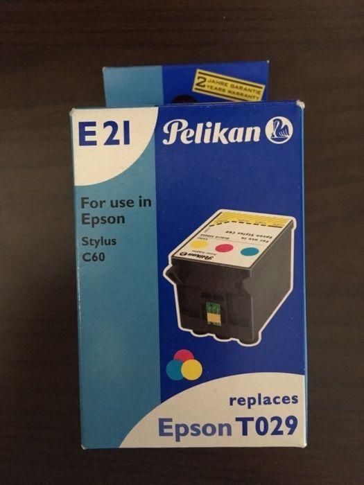 Cartuș/ toner Pelikan E21 pentru imprimanta Epson T029 Stylus C60/C50