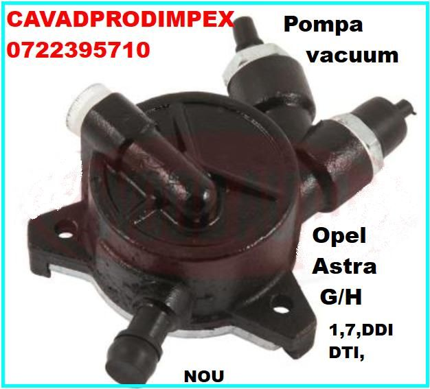 Pompa Vacuum noua pentru alternator Opel Astra G,H 1.7 CDTI,DT,DDI