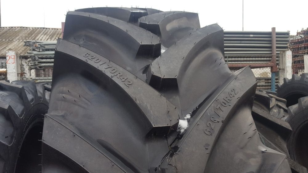 Cauciucuri noi agricole 620/70 R42 marca OZKA anvelope tractor spate