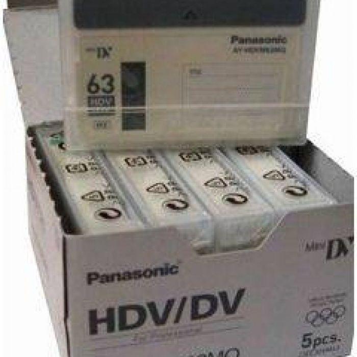 Caseta MiniDv HDV/DV Panasonic AY-DVM63MQ 63min